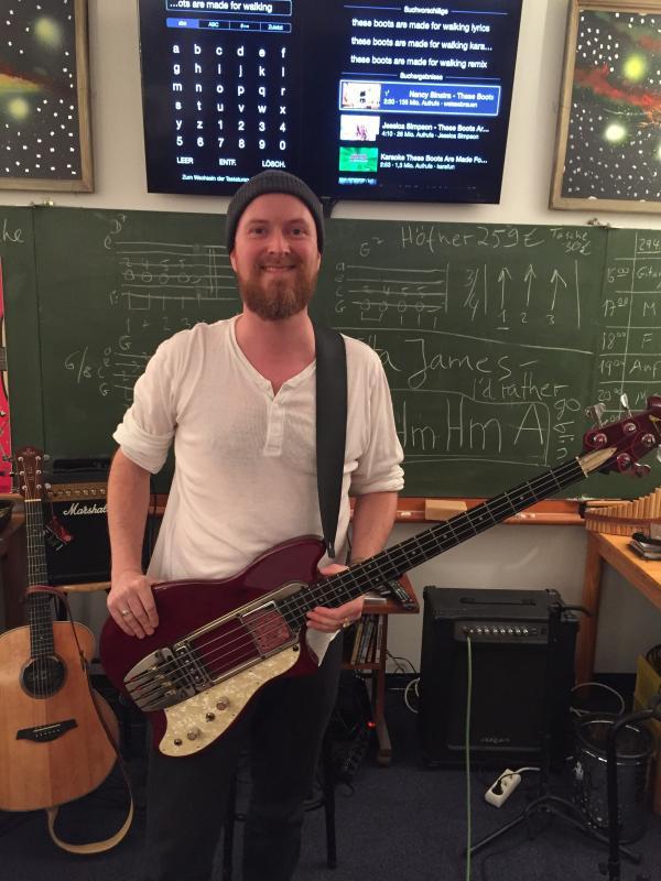 Andreas Klees Gitarren & Bass Dozent