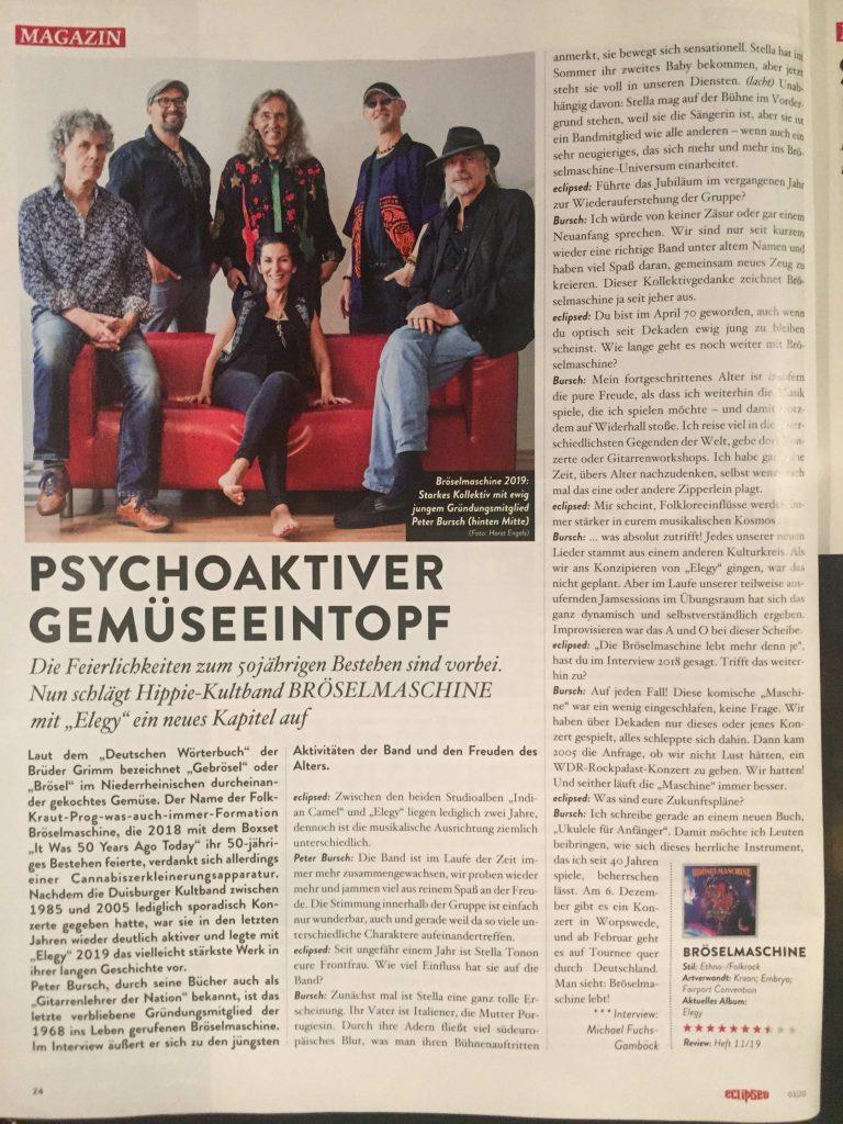 Aus ECLIPSE Magazin 11/19