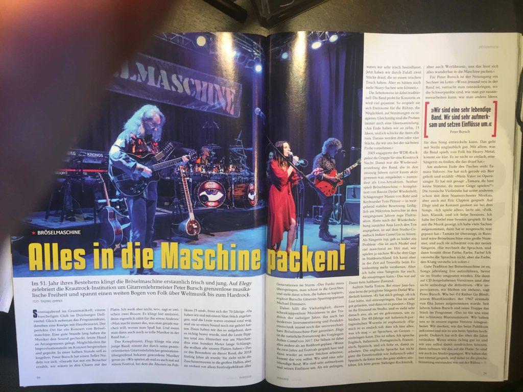Aus ROCKS Magazin Dezember 2019